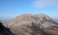 La muntanya d'Ullà vista des del cim del Montplà