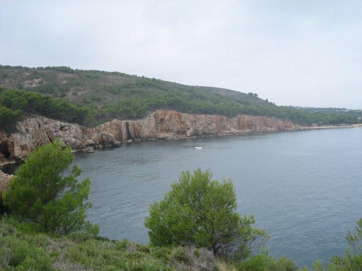 Penya segats camí de Punta Ventosa