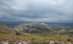 La muntanya d'Ullà des del Montplà