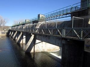 La Ruta del Ter al seu pas per la presa de Colomers
