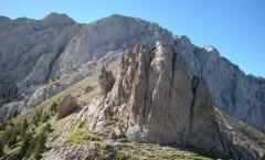 Pedraforca pel coll del Verdet