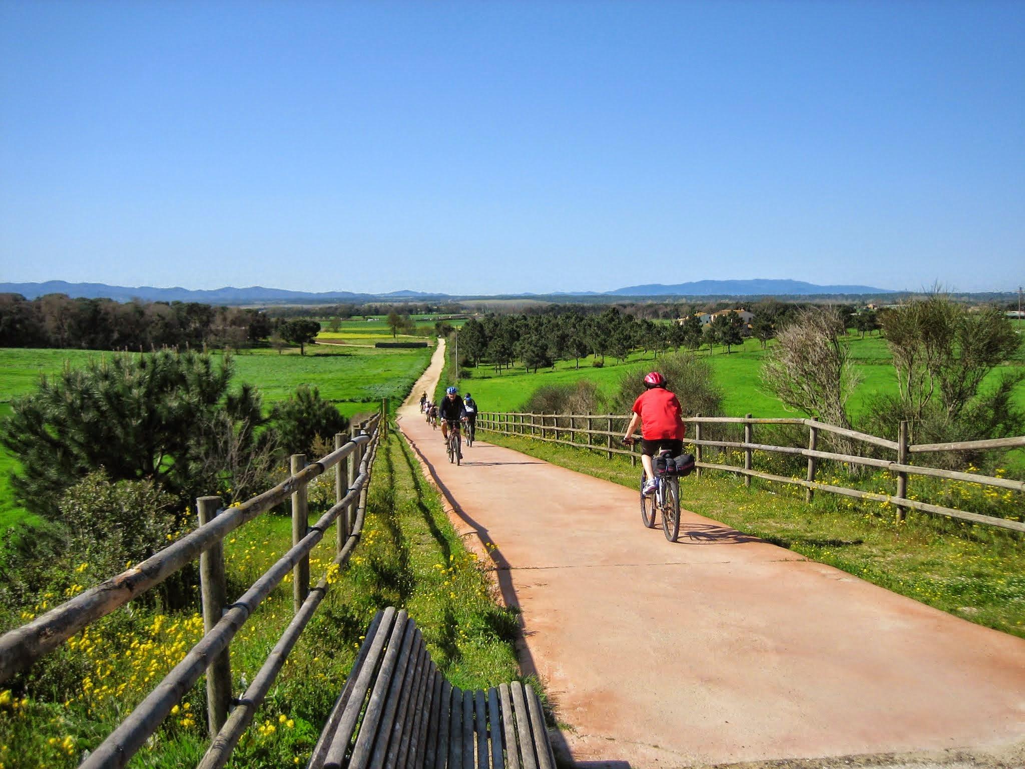 Via Verda del Carrilet II: Girona - Sant Feliu de Guixols