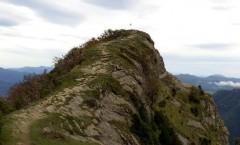 Puig dels Llops durant la sortida a la canal dels Ganxos.