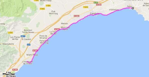 Mediterrània 27: Salou - L'Hospitalet de l'Infant