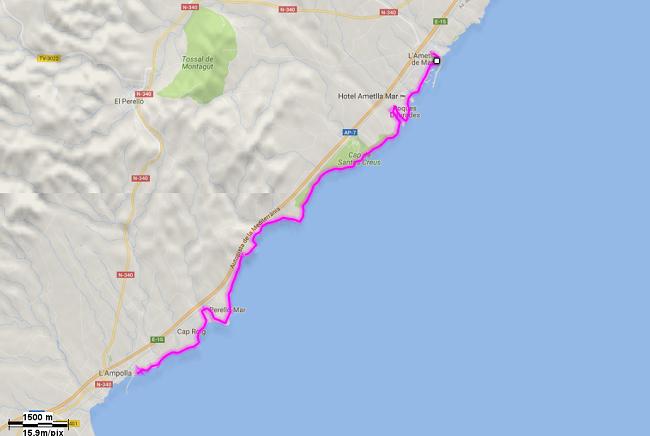 Mediterrània 29: L'Ametlla de Mar - L'Ampolla