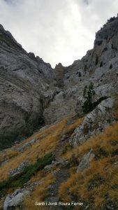Canal de Cristall, entre la Roca Verda i la de l'Ordiguer