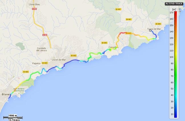 Mapa Camins de la Mediterrània 16