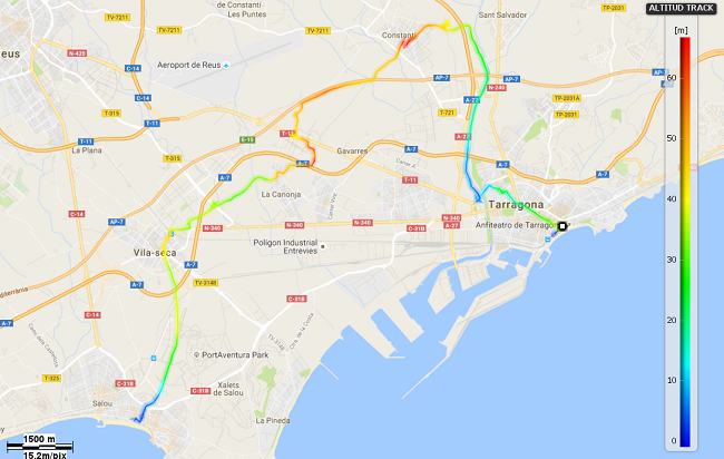 Mediterrània 26: Tarragona - Salou